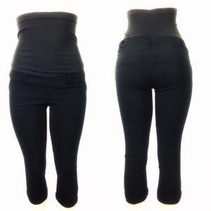 [MOTHERHOOD MATERNITY] Skinny Leg Capri Pant